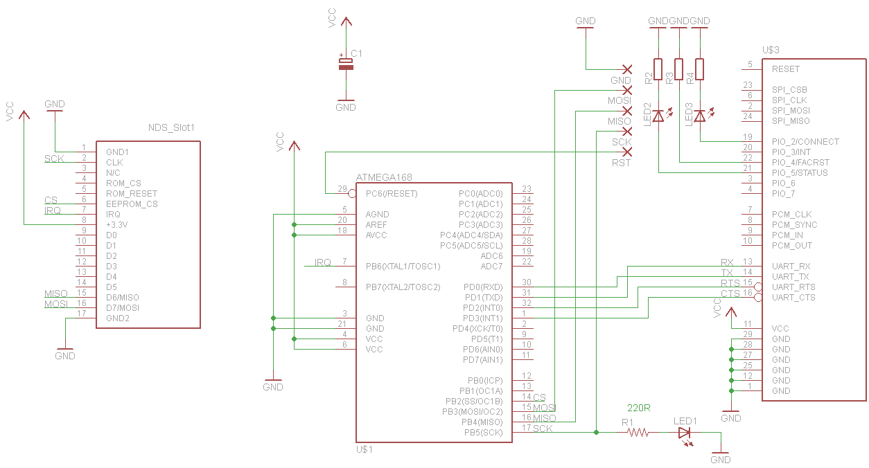 Bluetooth Cartridge For Nintendo Ds Hackaday Galant Fuse Box Layout Theyve Provided A Schematic